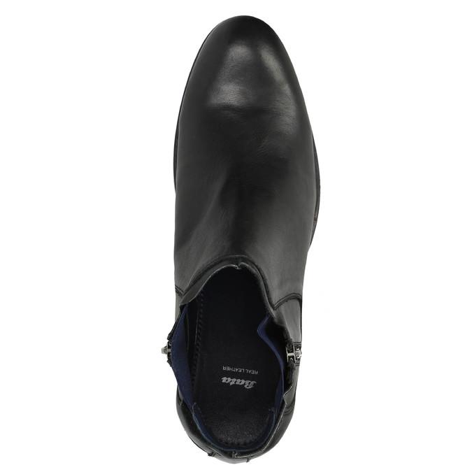 Pánska obuv vo výške ku členkom bata, čierna, 894-6656 - 19