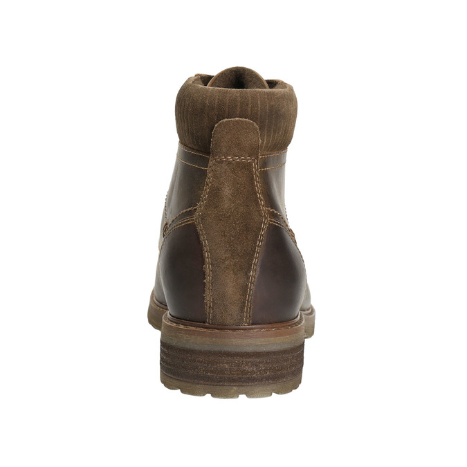 Pánska zimná obuv bata, hnedá, 894-4644 - 17