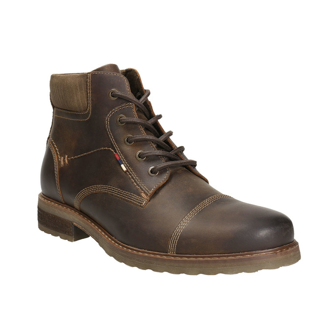 Pánska zimná obuv bata, hnedá, 894-4644 - 13