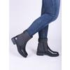 Kožená členková obuv bata, čierna, 594-6632 - 14