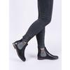 Dámske kožené Chelsea Boots bata, čierna, 596-6607 - 14