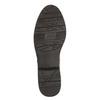 Kožené čižmy šírky H bata, hnedá, 596-4611 - 26