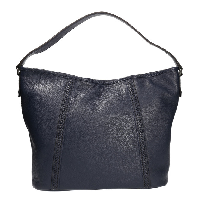 Kožená Hobo kabelka modrá bata, modrá, 964-9206 - 26