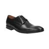 Čierne kožené poltopánky bata, čierna, 824-6769 - 13
