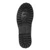 Kožená obuv s originálnym šnurovaním bata, čierna, 894-6180 - 26
