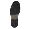Pánska kožená obuv bata, šedá, 894-2650 - 26