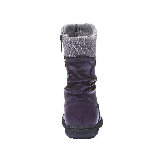 Detská obuv mini-b, fialová, 291-9119 - 17