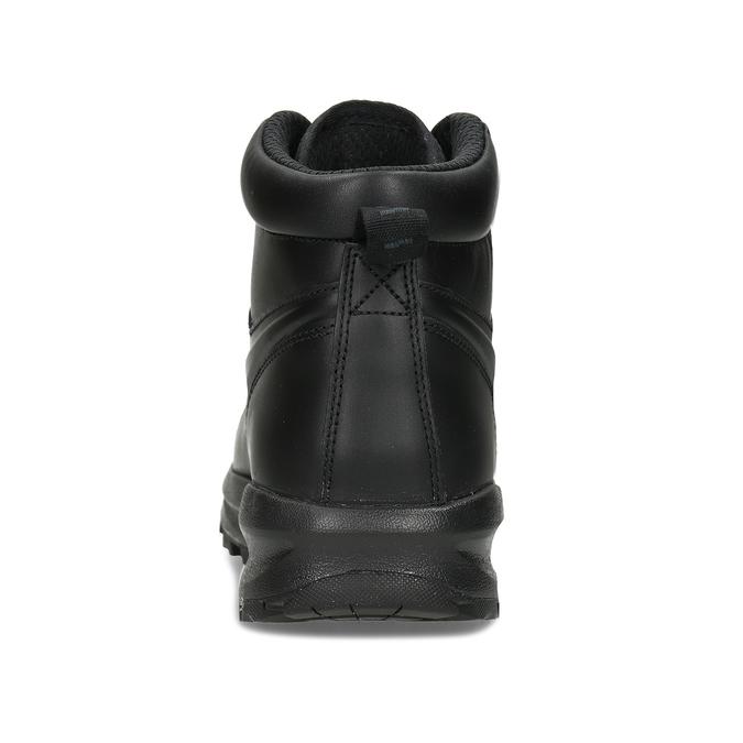 Kožená pánska členková obuv nike, čierna, 806-6435 - 15