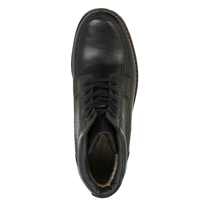 Pánska zimná obuv bata, čierna, 896-6640 - 19