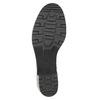 Kožená členková obuv bata, čierna, 696-6101 - 26