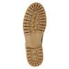 Kožená zimná obuv s kožúškom weinbrenner, šedá, 594-2491 - 17