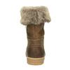 Kožená zimná obuv s kožúškom weinbrenner, hnedá, 596-4633 - 17