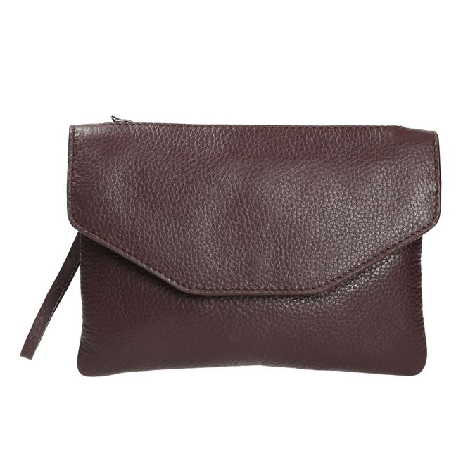 Dámska kožená Crossbody kabelka bata, fialová, 964-5210 - 26