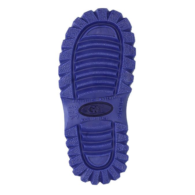 Detská zimná obuv so zateplením mini-b, modrá, 292-9201 - 26