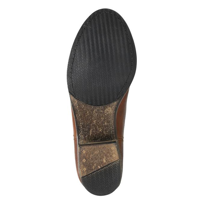 Kožené čižmy vo Western štýle bata, hnedá, 696-3607 - 26