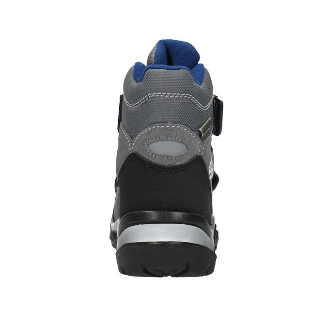 Detská zimná obuv na suchý zips weinbrenner, šedá, 299-2612 - 17