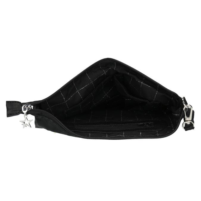 Čierna listová kabelka bata, čierna, 969-6631 - 15