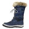 Štýlové snehule s kožúškom bata, modrá, 599-9609 - 19
