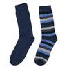 Pánske ponožky 2 páry bata, modrá, 919-9411 - 26