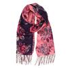 Elegantná šatka s kvetinovou potlačou bata, fialová, 909-9221 - 13