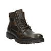 Pánska kožená členková obuv weinbrenner, hnedá, 896-4110 - 13