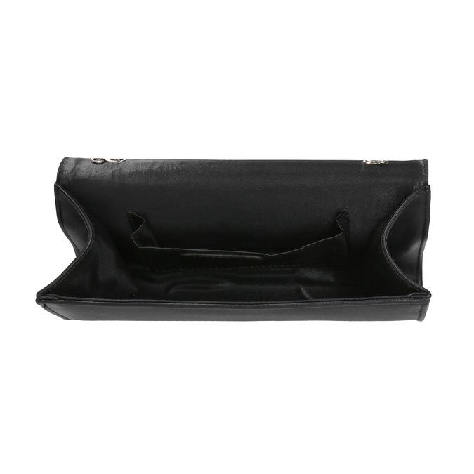 Listová kabelka s lakovanou klopou bata, šedá, 961-2673 - 15