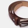 Hnedý pánsky kožený opasok bata, hnedá, 954-3170 - 16