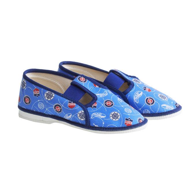 Detské papuče bata, modrá, 279-9011 - 26