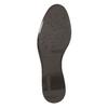 Kožená členková obuv s prackou bata, hnedá, 594-4602 - 26
