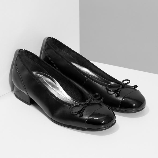 Lodičky gabor, čierna, 524-6452 - 26