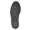 Kožené poltopánky s výraznou podrážkou bata, čierna, 826-6641 - 26