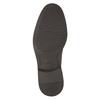 Neformálne kožené poltopánky bata, hnedá, 824-4654 - 26