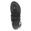 Dámske kožené sandále weinbrenner, čierna, 566-6101 - 19