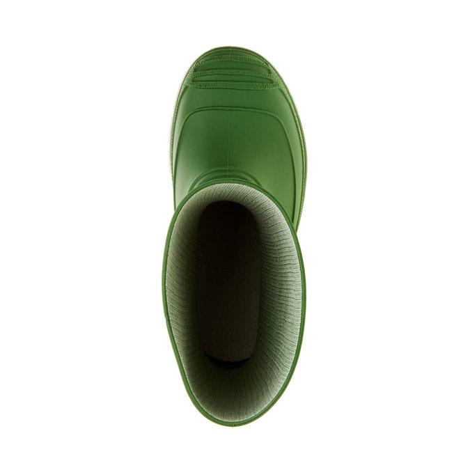 Detské gumáky mini-b, zelená, 392-7101 - 19