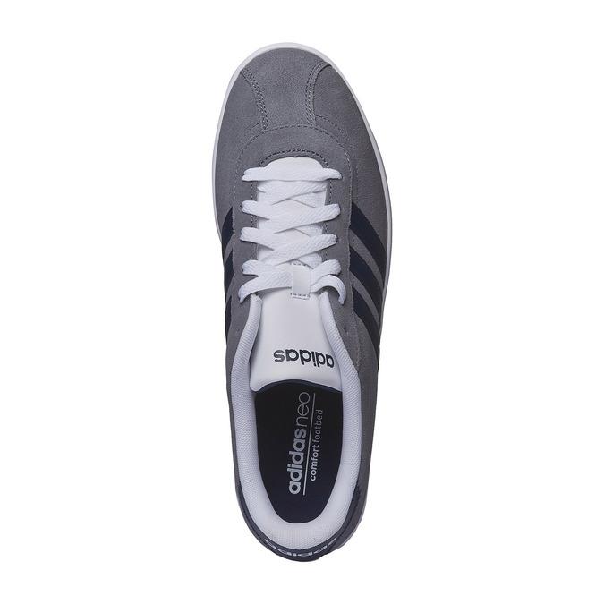 Pánska vychádzková obuv adidas, šedá, 803-2122 - 19