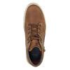 Pánske členkové tenisky bata, hnedá, 826-3650 - 19