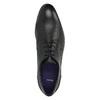 Pánske kožené poltopánky bata, čierna, 824-6709 - 19