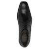 Pánske kožené poltopánky bata, čierna, 824-6721 - 19