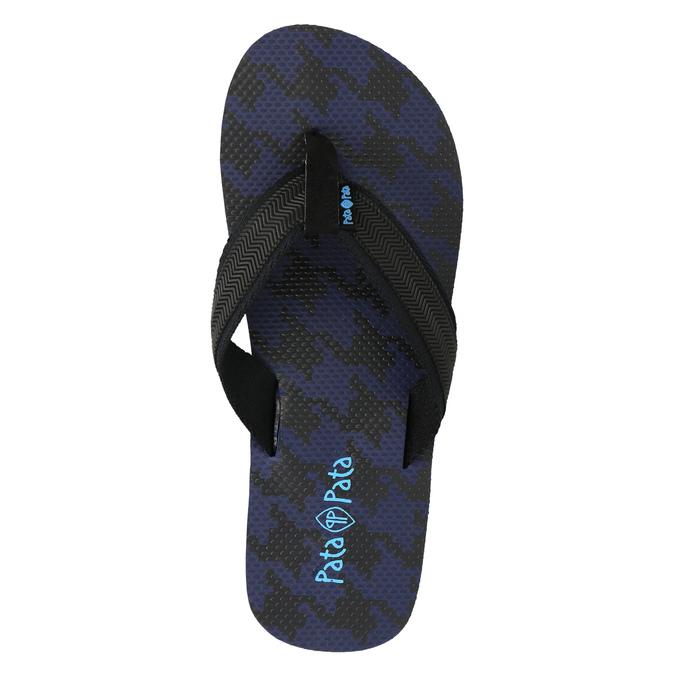 Pánske žabky pata-pata, modrá, 881-9602 - 19