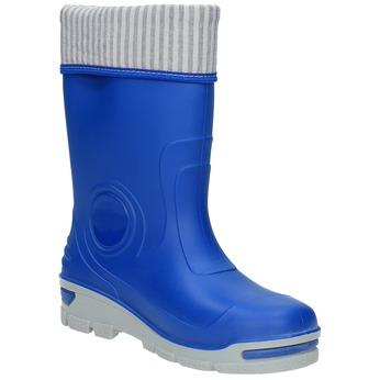 Detské modré gumáky mini-b, modrá, 292-9200 - 13