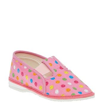 Detská domáca obuv bata, ružová, 279-5011 - 13