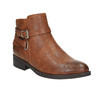 Členková obuv hnedá bata, hnedá, 591-4602 - 13