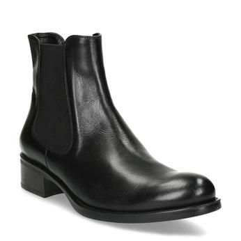 Kožená dámska Chelsea obuv bata, čierna, 594-6448 - 13