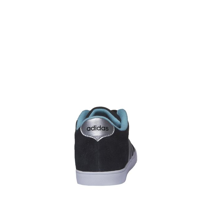 Ležérne semišové tenisky adidas, čierna, 503-6685 - 17