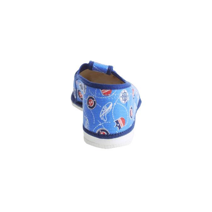 Detské papuče bata, modrá, 279-9011 - 17