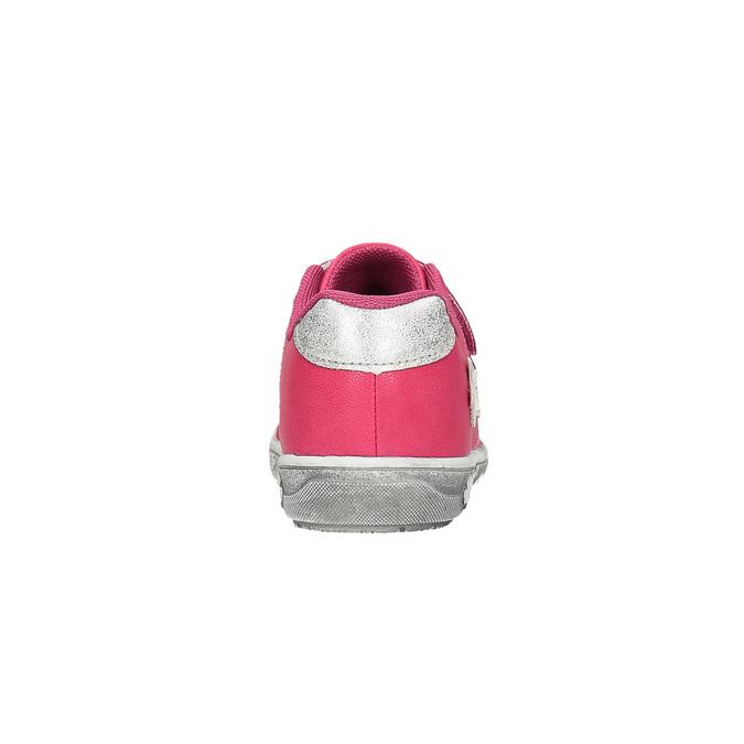 Ružové detské tenisky s kytičkami mini-b, ružová, 221-5602 - 17