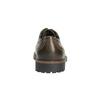 Kožené poltopánky s výraznou podrážkou bata, hnedá, 826-4641 - 17