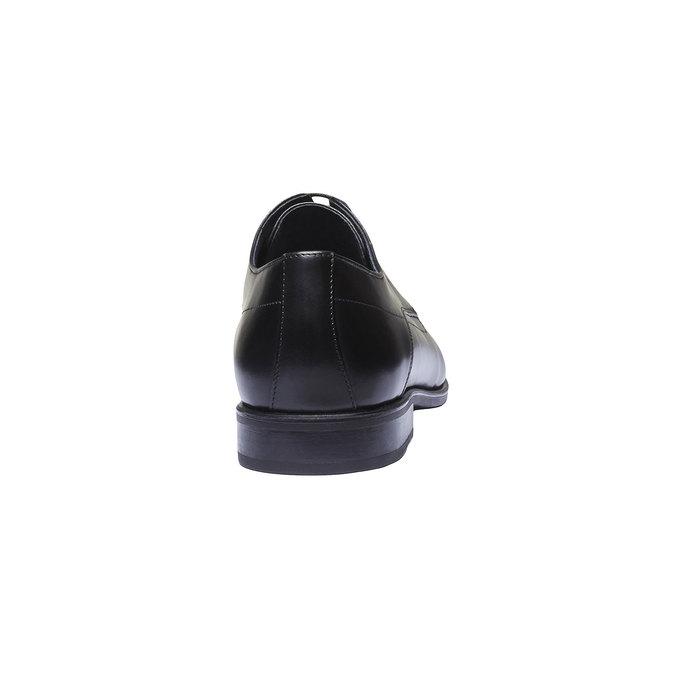 Pánske kožené poltopánky bata, čierna, 824-6275 - 17