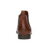 Kožené hnedé Chelsea Boots bata, hnedá, 594-4604 - 17