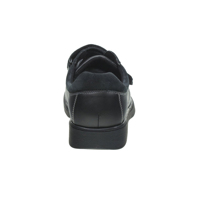 Tenisky na suchý zips bata, čierna, 834-6001 - 17